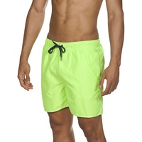 Arena Fundamentals Solid Boxer, shiny green-navy XXL