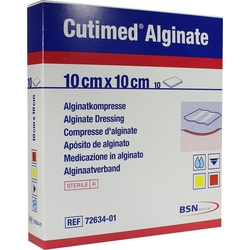Cutimed Alginate 10x10cm Alginatkompresse