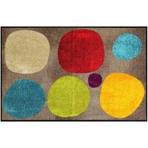Fußmatte Salonloewe Fußmatte waschbar Broken Dots Colourful 075x120 cm, Salonloewe