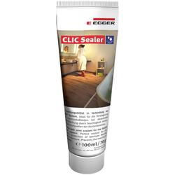 EGGER Bodenversiegelung Aqua+ Clic Sealer, zur Fugenversiegelung - 100 ml für ca. 10m² Fläche weiß