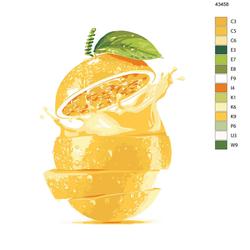 """Malen nach Zahlen """"Zitronensaft"""", 40x50cm, KTMK-43458"""