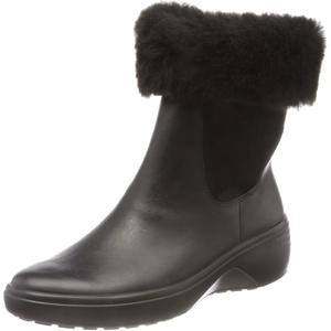 ECCO Damen Soft 7 Wedge Tred BlackBlack Chelsea Boot, Schwarz (Black), 37 EU