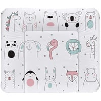 Rotho Babydesign Wickelauflage Happy Faces, Made in Europe