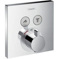 HANSGROHE ShowerSelect Thermostat Unterputz 2 Verbraucher, chrom