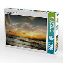 Henne Strand - Dänemark Lege-Größe 64 x 48 cm Foto-Puzzle Bild von uwe vahle Puzzle