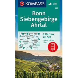 Bonn Siebengebirge Ahrtal 1:35 000