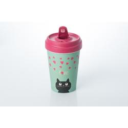 Becher BambooCUP - Kitty Love