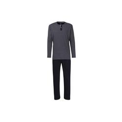 Pyjama Herren Schlafanzug 2-tlg. Set - Pyjama, lang, XL