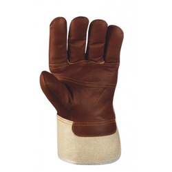 BIG Möbelleder-Handschuhe BRAUNE FARBEN VE 120 Paar 1113