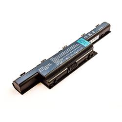 MobiloTec Akku kompatibel mit Packard Bell PEW91 Laptop-Akku