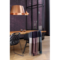 Wohndecke Franse Plaid Variat. purple, BIEDERLACK, Decke