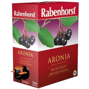 RABENHORST Aronia Bio Muttersaft 3000 ml Saft