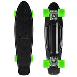 Skateboard Vintage Cruiser 60mm schwarz-kombi
