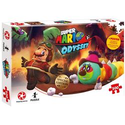 Winning Moves Steckpuzzle Puzzle Super Mario Odyssey Forgotten Isle, 500 Puzzleteile
