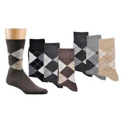 Socks 4 Fun Businesssocken Karo Socken (3-Paar) 47-50