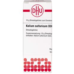 KALIUM SULFURICUM D 30 Globuli 10 g