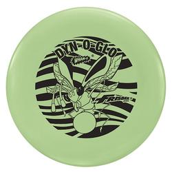 Wham-O Frisbee Dyn-O-Glo 130g bee Wurfscheibe leuchtet glow