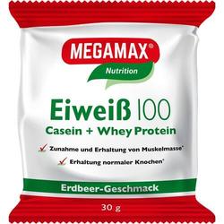 EIWEISS 100 Erdbeer Megamax Pulver 30 g