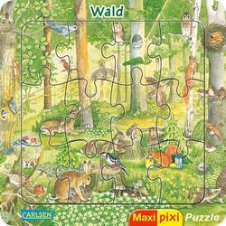 CARLSEN Maxi Pixi: Maxi-Pixi-Puzzle: Wald