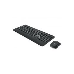Logitech MK540 Advanced Tastatur-und-Maus-Set kabellos 2.4 GHz Slowenisch / Kroatisch Dunkelgrau (920-008692)