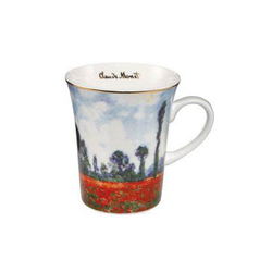 Goebel Becher Mohnfeld Artis Orbis Claude Monet, Fine China-Porzellan