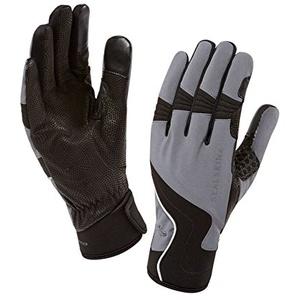 SealSkinz Herren Nordic Walking Handschuhe Norge, Grey & Black, L