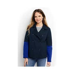 Cabanjacke aus Jersey - S - Blau