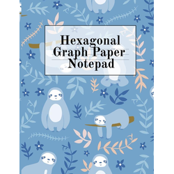 Hexagonal Graph Paper Notepad als Buch von Crafty Hexagon