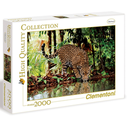 Clementoni® Puzzle Leopard, 2000 Puzzleteile, Made in Europe