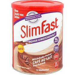 SLIM FAST Pulver Cafe au Lait 438 g