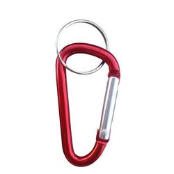 Schlüsselanhänger Karabiner Rot