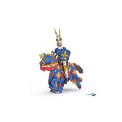 papo Spielfigur Blauer Ritter der Lilie mit Pferd