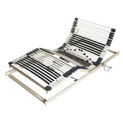 Set mit 2 x elektrischer Lattenrost, 80x200cm, 44 Leisten, 2 Motoren, Netzfreischaltung/Notstromabsenkung