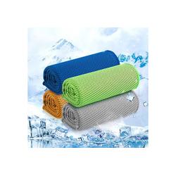 ANVASK Sporthandtuch Mesh cooles Sporttuch Kaltes Sporthandtücher Set mit 4 Farben (4-St)