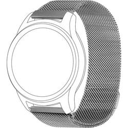 Topp für Garmin vivomove/vivoactive 3 Ersatzarmband Silber