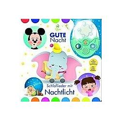 Nachtlichtbuch  Disney Baby  Gute Nacht - Schlaflieder mit Nachtlicht - Buch