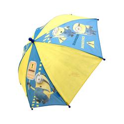 Minions Stockregenschirm Kinder Regenschirm, 65 cm, blau/gelb