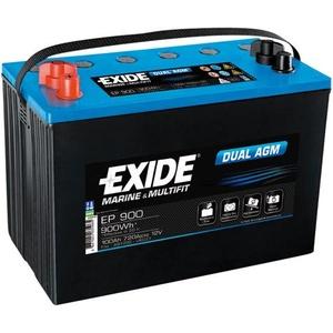 Exide EP900 Dual AGM-Batterie, 100Ah