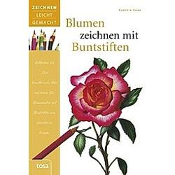Blumen zeichnen mit Buntstiften. Cynthia Knox  - Buch