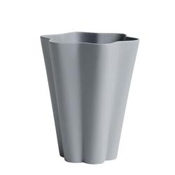 Iris Vase Grau L  Hay