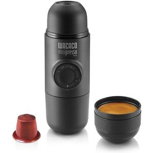 WACACO Minipresso NS, Tragbare Espressomaschine, Kompatibel mit NS-Kapseln (Original kapseln von Nespresso und kompatible Produkte), Reisekaffeemaschine, Manuell Betätigt, perfekt für Wandern
