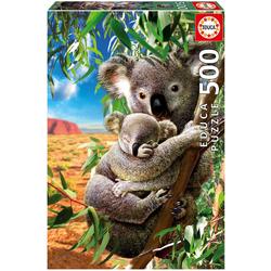 Educa - Koala mit Koala-Baby 500 Teile Puzzle