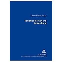 Verkehrssicherheit und Amtshaftung - Buch