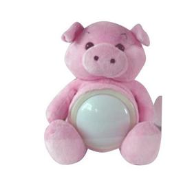 JOKA international LED Nachtlicht Nachtlicht LED Touch Leuchte Schwein Lampe Nachtlicht-Touch Kuscheltier Nachtlichter 12019, Touchlampe Schwein