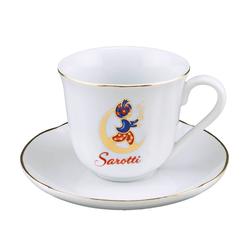Reutter Porzellan Tasse Reutter Porzellan - Sarotti Logo Tasse mit Unterteller 88.068/5 Kaffeetasse