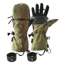 The Heat Company HEAT 3 Special Force Handschuh Oliv (Größe: 7, Handumfang 17-18 cm)