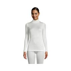 Seidenunterhemd mit Rollkragen - M - Weiß