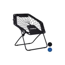relaxdays Campingstuhl Bungee Stuhl WEBSTER grau 60 cm x 80 cm x 83 cm