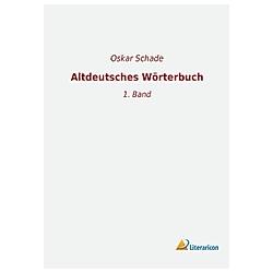 Altdeutsches Wörterbuch - Buch