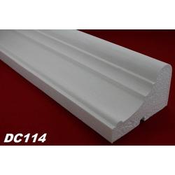 DC114 Fensterbankprofil Fenster Zierprofil 155x100mm Fassadenprofil Fassadenstuck Profil Leiste 200cm